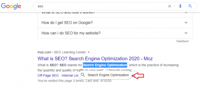 Google Tests Highlighting Snippets to Refine Search